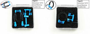 Dental Sectional Contoured Matrix Clips Type A 121 With Blue Replacement Parts