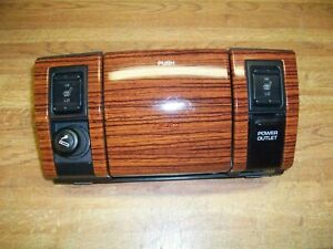 Center Dash Trim Ashtray Jeep Grand Cherokee 1999 2000 2001 2002 2003 Woodgrain