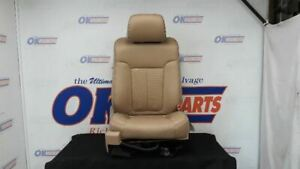 2011 Ford F150 Passenger Right Front Seat Tan Leather Lariat