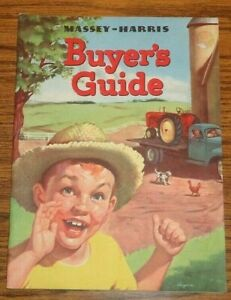 Massey Harris Buyers Guide Sales Brochure Pacer Colt Mustang Tractors Full Line