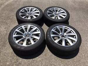 2020 Volvo Xc90 2017 2018 21 Inch Factory Oem Wheels Rims Tire Silver Machined