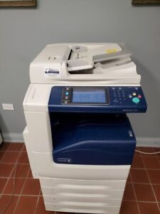 Xerox Workcentre 7125 Color Laser Printer Copier Scanner 25ppm Legal tabloid 91k