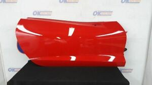 14 Chevy Corvette C7 Front Right Passenger Door Assembly Red