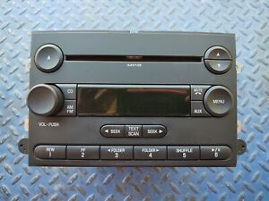2005 2007 Ford Explorer Radio 6 Cd Player Stereo Oem