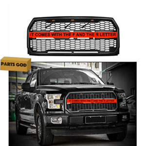 For F 150 Raptor Svt Style Grill 2015 2016 2017