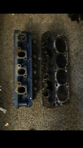 Ford 351c Cleveland Open Chamber Cylinder Heads