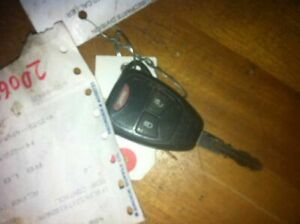 2010 Caliber Key Fob Remote 3 Button Mounted On Key
