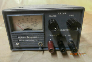 Hewlett Packard Hp 6217a 0 50v 0 0 2a Variable Dc Power Supply Tested