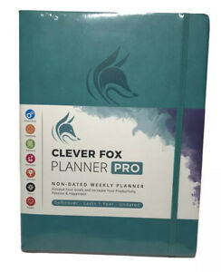 Clever Fox Planner Pro Weekly Monthly Life Planner To Increase Productivity