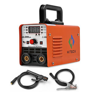 Hitbox Digital Mini Arc Welder 220v Arc Stick Welding Machine Inverter Welder