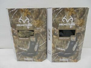 Realtree Edge Camo Low back Seat Cover 2 Piece Set Bundle Of 2 Sets Easy Install
