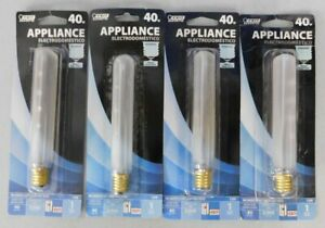 Four Fiet Frosted Tubular 5 1 2 Bulb For Exit Signs Appliance 40w Medium Base