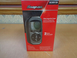 New Snap On Bk3000gm Digital Video Inspection Scope Factory Sealed Free Ship