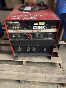 Lincoln Cv 250 Welder 3 Phase Can Ship Freight