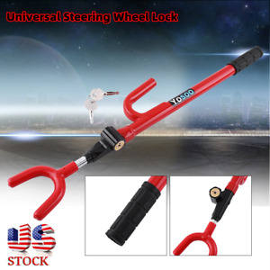 Steering Wheel Lock The Club Car Anti Theft Truck Suv Auto Van Universal