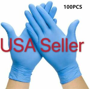 100 Pcs select M l xl Nitrile Disposable Gloves Food Grade Gloves Latex Free