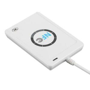 Rfid Nfc Smart Card Reader Nfc Smart Writable Clone Writer With 5 M1 Card Pt