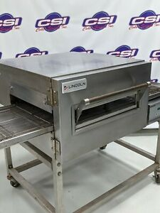 Lincoln 1132 Electric Conveyor Oven Stand Factory Asa Renewed 1 Yr Wrty