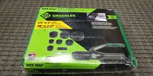 Greenlee 7806sb Hydraulic Punch Set Driver Tool Kit 1 2 2