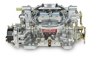 Edelbrock 1406 Performer Carburetor 600 Cfm 4 Barrel Square Bore Electric Choke
