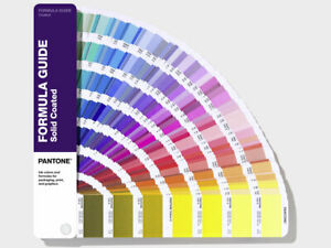 Pantone Formula Guide Solid Gloss Coated Shows 2161 Colours Latest Version