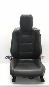 11 2011 Chevy Camaro Convertible Driver Left Front Bucket Seat Black Leather