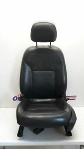 13 2013 Chevy Malibu Driver Left Front Bucket Seat Black Leather Power Heated