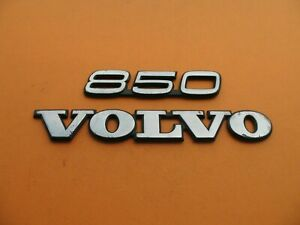 93 94 95 96 97 Volvo 850 Rear Trunk Lid Emblem Logo Badge Sign Symbol Set A8546