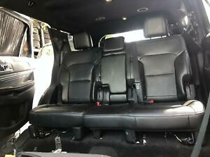 16 17 18 19 Ford Explorer 2nd Row Seats Black Leather Heated Oem