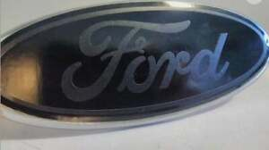 Ford Emblem Overlay Oval Blackout Badge Vinyl Decal Sticker Any Year Model