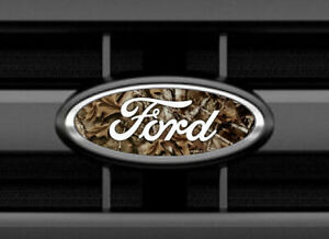 Ford F150 Camo Emblem Oval Overlay Badge Vinyl Decal Sticker Cover
