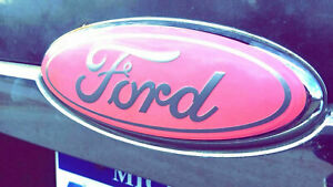 Ford F150 Pink Oval Emblem Overlay Badge Vinyl Decal Sticker Cover Custom