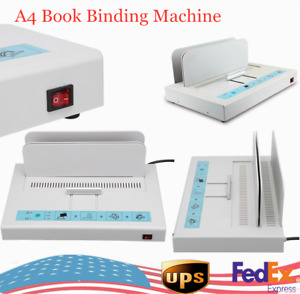 Binder Machine Book Binding Machine Paper Electric Hot Melt Glue Binding Machine