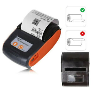 Portable Bluetooth Thermal Label Printer 58mm Wireless Receipt Machine Handheld