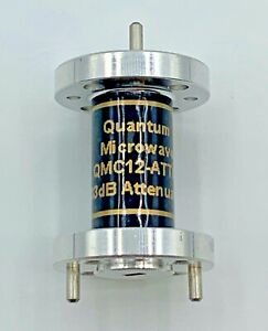 Wr 12 Millimeter Waveguide Fixed Attenuator 3 Db By Quantum Microwave