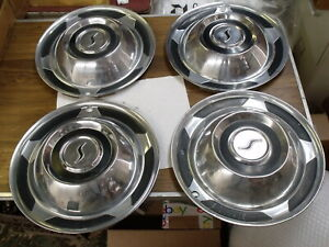 Studebaker Hubcap Set All 1958 Cars With 14 Wheels Ac 2900