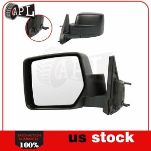 Manual Side Mirror For 2007 2014 Jeep Patriot Left Side