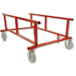 Auto Body Bed Dolly Collapsible 1200 Lb Capacity With Wheels By Prolific
