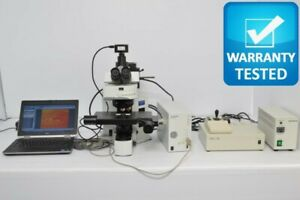 Olympus Bx61 Fluorescence Motorized Microscope Unit 3