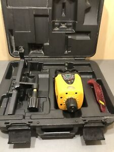 Cst berger Lm30 Level Lasermark Laser Detector With Case As Is