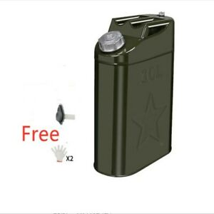 Jerry Can Gas Caddy Tank 2 65 Gal 10l Gasoline Gas Fuel Can For Emergency Backup