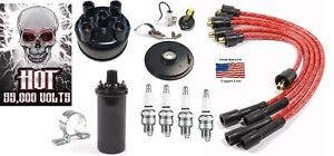 Farmall 100 Tractor Ignition Tune Up Kit 12 Volt Hot Coil