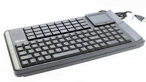 Ncr Compact Realpos Pos Usb Keyboard With Glidepad In Charcoal 5932 6670 9090