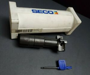 Seco Indexable T slot Cutter 1 84 Dia 0 83 Scet R395 19 Machinist Milling