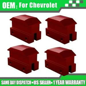 Lifting Pads Jack Pad Floor For Chevrolet The 6th Gen Camaro Red 4pcs Pack