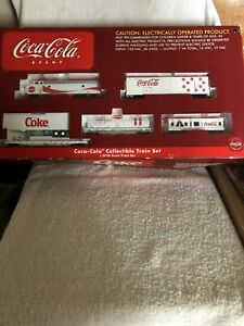 Athearn Coca Cola Train Set Opened But Never Taken Out Of Box