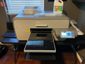 Ricoh Ri 3000 All Accessories full Dtg Printing Business Direct To Garment