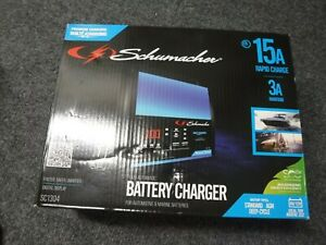 new Schumacher 15a 6v 12v Fully Automatic Battery Charger sc1304