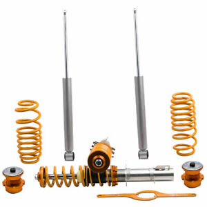 Street Coilover Kit Fits For Vw Mk4 Golf Gti Jetta New Beetle New 99 05