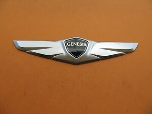 2015 2016 Hyundai Genesis Sedan Rear Lid Emblem Logo Badge Sign Oem 15 16 A8740